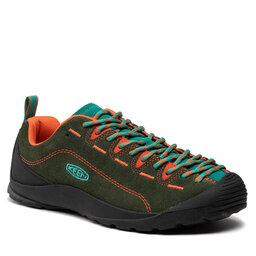 Keen Трекінгові черевики Keen Jasper 1025443 Dark Green/Greenlake