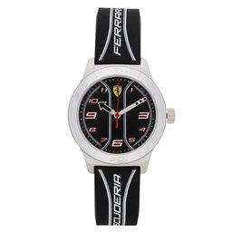 Scuderia Ferrari Laikrodis Scuderia Ferrari Academy 810024 Black/Silver