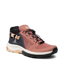 Salomon Трекінгові черевики Salomon Tech Amphib 4 W 412994 23 V0 Brick Dust/Ebony/Almond Cream