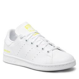 adidas Взуття adidas Stan Smith J GZ8364 Ftwwht/Ftwwht/Sesoye