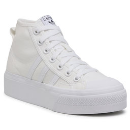 adidas Взуття adidas Nizza Platform Mid W FY2782 Ftwwht/Ftwwht/Ftwwht