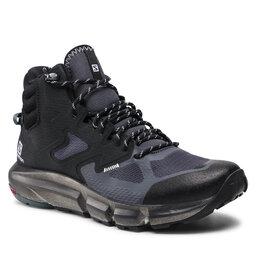Salomon Трекінгові черевики Salomon Predict Hike Mid Gtx GORE-TEX 414609 27 V0 Ebony/Black/Storm Weather