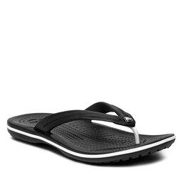 Crocs Šlepetės per pirštą Crocs Crocband Flip 11033 Black