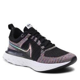 Nike Batai Nike React Infinity Run FK 2 Bt DD6790 001 Black/Multi/Color/Pink Blast