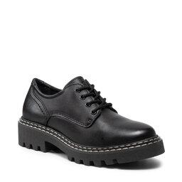 Tamaris Оксфорди Tamaris 1-23742-27 Black Leather 003