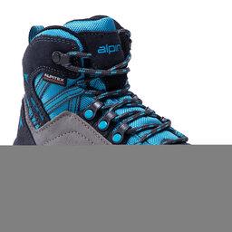 Alpina Трекінгові черевики Alpina Alc Jr 6428-2 Blue/Grey