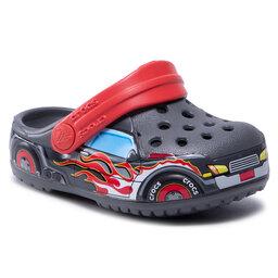 Crocs Шльопанці Crocs Fitruckbandclog K 207074 Slate Grey