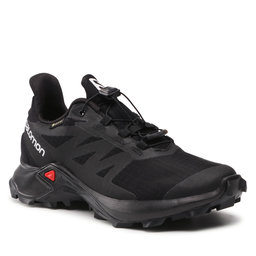 Salomon Взуття Salomon Supercross 3 Gtx W GORE-TEX 414559 20 W0 Black/Black/Black