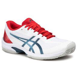 Asics Batai Asics Court Speed Ff Clay 1041A093 White/Mako Blue 105