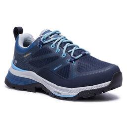 Jack Wolfskin Трекінгові черевики Jack Wolfskin Force Striker Texapore Low W 4038891 Dark Blue/Light Blue