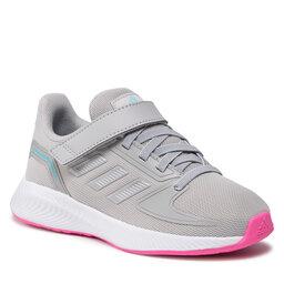 adidas Batai adidas Runfalcon 2.0 C GZ7435 Grey Two/Silver Metallic/Screaming Pink