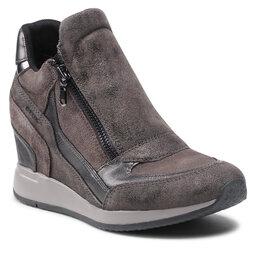 Geox Laisvalaikio batai Geox D Nydame A D620QA 022VI C9002 Dk Grey