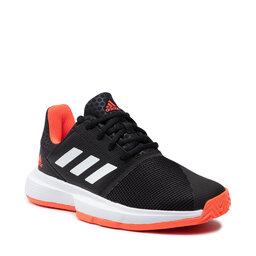 adidas Взуття adidas CourtJam xJ H67972 Cblack/Ftwwht/Solred
