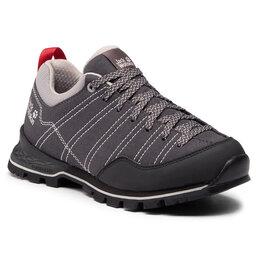 Jack Wolfskin Трекінгові черевики Jack Wolfskin Scrambler Low W 4036671 Phantom/Light Grey