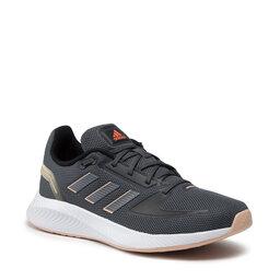 adidas Взуття adidas Runfalcon 2.0 H04519 Grey Six/Iron Metallic/Solar Red