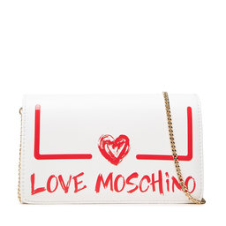 LOVE MOSCHINO Rankinės LOVE MOSCHINO JC4289PP0DKE110A Bianco/Rosso
