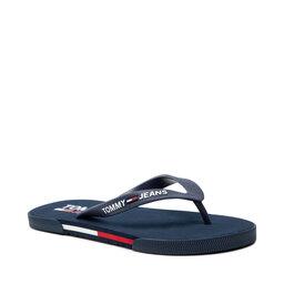 Tommy Jeans Šlepetės per pirštą Tommy Jeans Men Beach Sandal EM0EM00731 Twilight Navy C87
