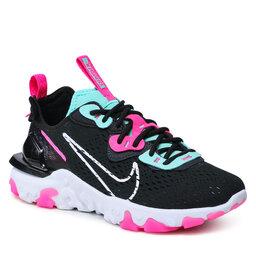 Nike Batai Nike Nsw React Vision CI7523 008 Dk Smoke Grey/White/Pink Blast