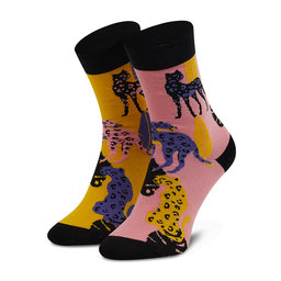 Cup of Sox Високі шкарпетки unisex Cup of Sox Wild Socks Pantery