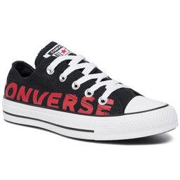 Converse Sportbačiai Converse Ctas Ox 165430C Black/Enamel Red/White