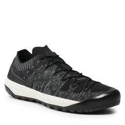 Mammut Трекінгові черевики Mammut Hueco Knit Low 3020-06190-0486-1075 Black/Titanium
