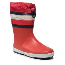 Tommy Hilfiger Guminiai batai Tommy Hilfiger Rain Boot T3X6-32105-1235 S Red 300