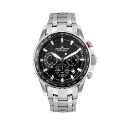 Jacques Lemans Годинник Jacques Lemans Liverpool 1-2099D Silver/Black