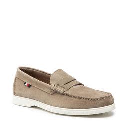 Tommy Hilfiger Mokasinai Tommy Hilfiger Sustainable Loafer Shoe FM0FM03603RB7 Desert Tan RB7