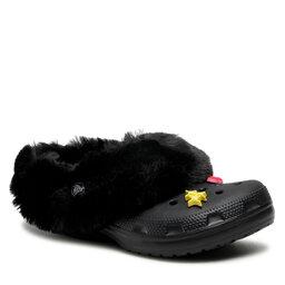 Crocs Шльопанці Crocs Classic Mammoth Charm Clog 207409 Black