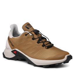 Salomon Взуття Salomon Supercross 3 414519 27 V0 Bronze Brown/Rainy Day/Rainy Day