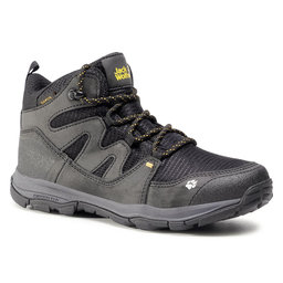 Jack Wolfskin Трекінгові черевики Jack Wolfskin Mtn Attack 3 Texapore Mid K 4034081 D Black/Burly Yellow XT