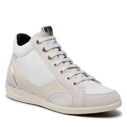 Geox Laisvalaikio batai Geox D Myria A D1668A 022PZ C1002 Off White