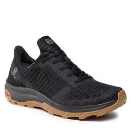 Salomon Трекінгові черевики Salomon Outbond Prism Gtx GORE-TEX 412710 27 M0 Black/Black/Gum1a
