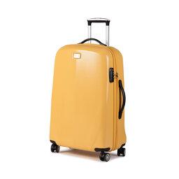 Wittchen Середня тверда валіза Wittchen 56-3P-572-50 Жовтий