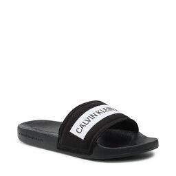 Calvin Klein Jeans Шльопанці Calvin Klein Jeans Slide Tape Inst Co YW0YW00409 Black BDS