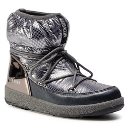 Moon Boot Снігоходи Moon Boot Jrgirl Low Nylon Premium Wp 34052300002 D Metal Gun