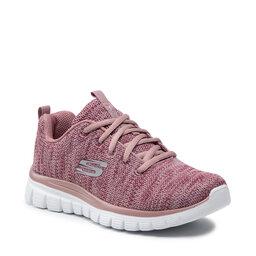 Skechers Взуття Skechers Twisted Fortune 12614/MVE Mauve