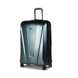 Wittchen Велика тверда валіза Wittchen 56-3P-123-85 Зелений