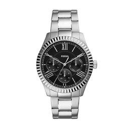 Fossil Годинник Fossil Chapman FS5631 Silver/Black