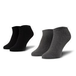 Boss Unisex trumpų kojinių komplektas (2 poros) Boss 2P As Color Cc 50407405 032