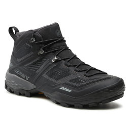 Mammut Трекінгові черевики Mammut Ducan Mid Gtx GORE-TEX 3030-03540-00288-1085 Black/Dark Titanium