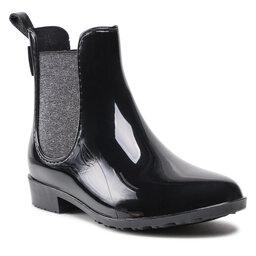 Les Tropeziennes Гумові чоботи Les Tropeziennes Rainboo 40151 Black/Silver