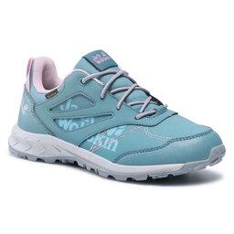 Jack Wolfskin Трекінгові черевики Jack Wolfskin Woodland Texapore Low K 4042161 Grey/Pink