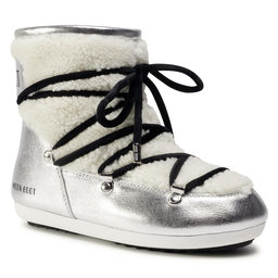 Moon Boot Снігоходи Moon Boot Dk Side Low Saffiano 24300900001 Silver