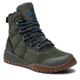 Columbia Трекінгові черевики Columbia Fairbanks Omni-Heat BM2806 Gravel/Dark Moss 339