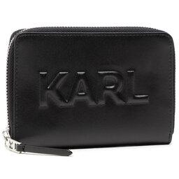 KARL LAGERFELD Велике жіноче портмоне KARL LAGERFELD 211W3217 Black 999