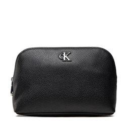 Calvin Klein Jeans Kosmetinė Calvin Klein Jeans Minimal Monogram Make Up Bag K60K608403 BDS