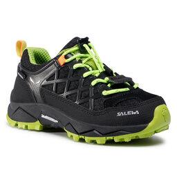 Salewa Трекінгові черевики Salewa Jr Wildfire Wp 64009-0986 Black Out/Cactus