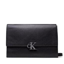 Calvin Klein Jeans Rankinės Calvin Klein Jeans Minimal Monogram E/W Flap Xbody K60K608386 BDS