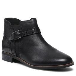Clarks Aulinukai Clarks Trish Strap 261636134 Black Leather